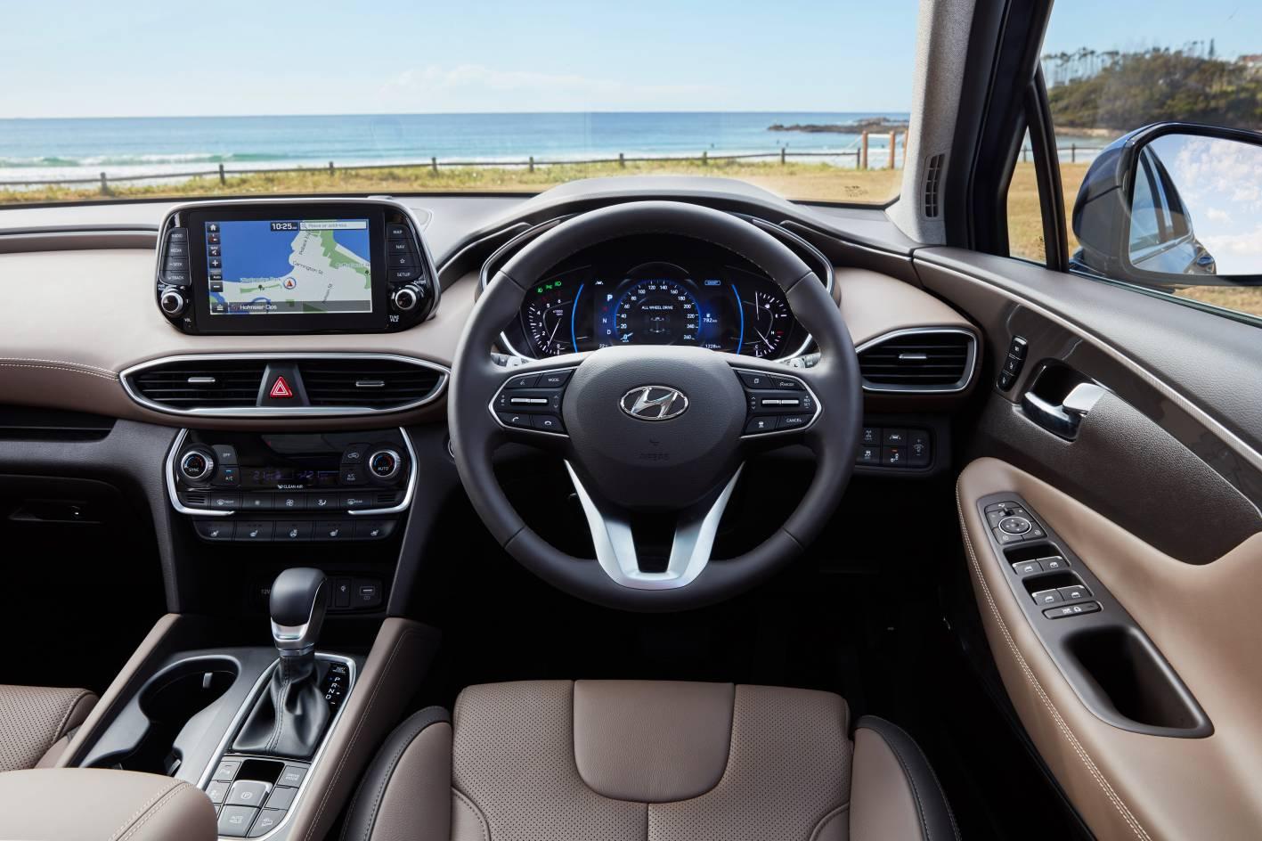 Hyundai Santa FE 2020 Interior