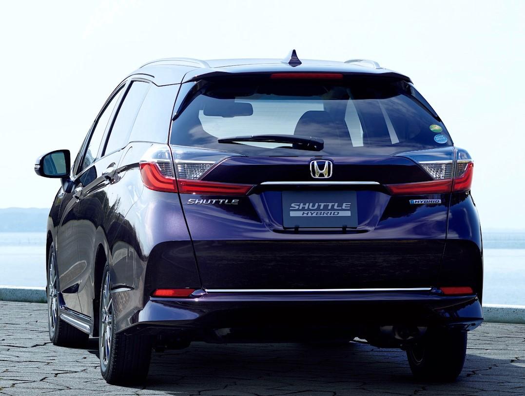 Honda Fit Shuttle Hybrid 2021 Exterior
