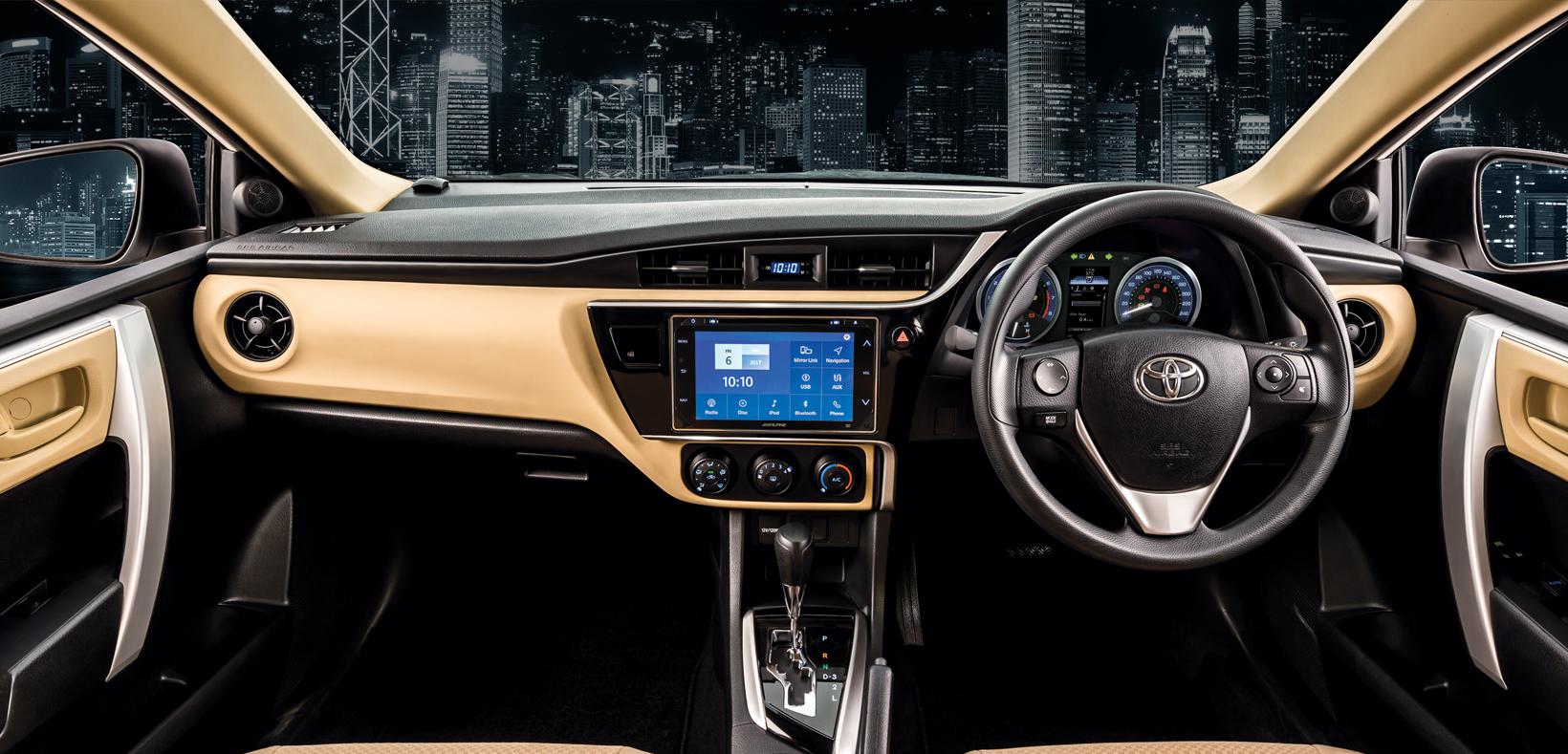 Toyota Corolla Altis Automatic 1.6 2021 Interior
