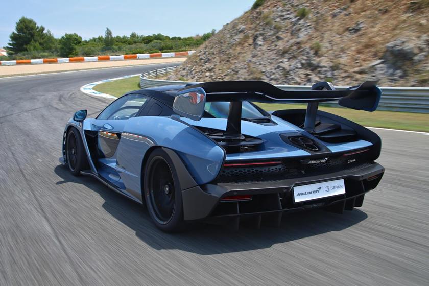 McLaren Seena Top Speed