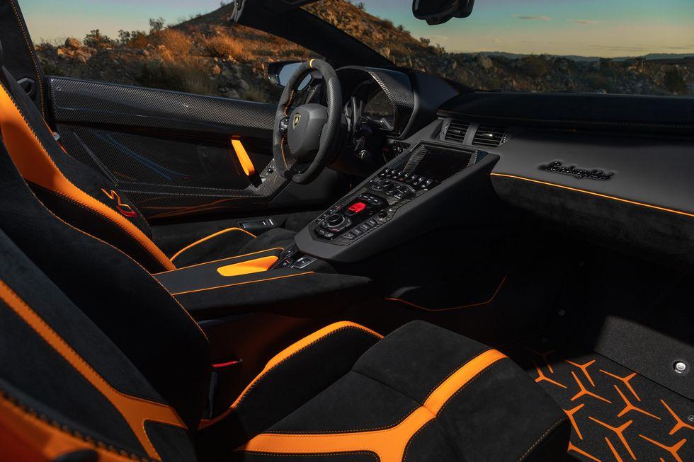 Lamborghini Aventador Features