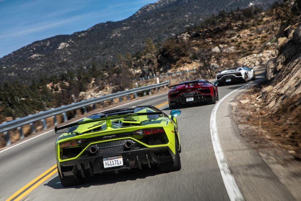Lamborghini Aventador Top Speed
