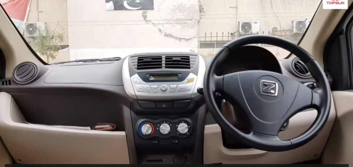 Zotye Z100 Interior