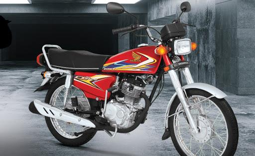 Honda CG 125 2020 Availability