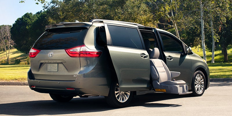 Toyota Sienna Specifications