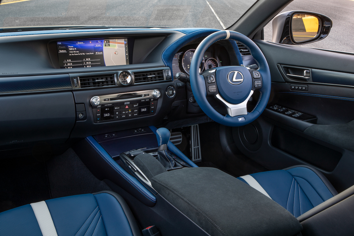 Lexus GS F Features 2020