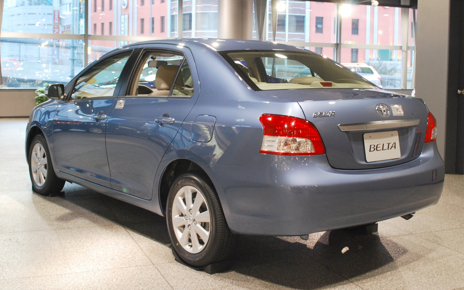 Toyota Belta Specifications