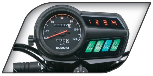 Suzuki GD 110S 2020 Features