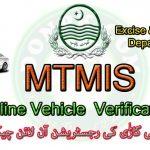MTMIS Punjab Online Vehicle Verification System Punjab