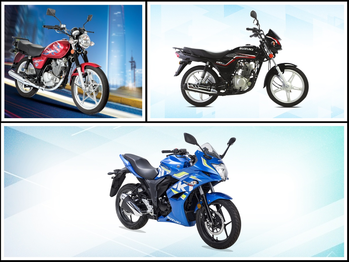 Suzuki Bikes Prices in Pakistan 2021 New Models
