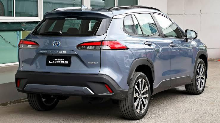 Toyota Corolla Cross Exterior 2021
